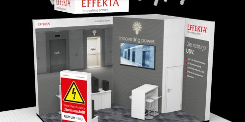 Effekta Messestand Interlift 2019