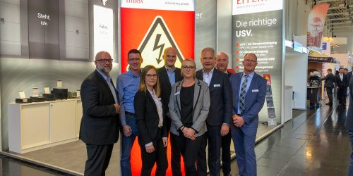 EFFEKTA Messestand mit Team auf der interlift 2019