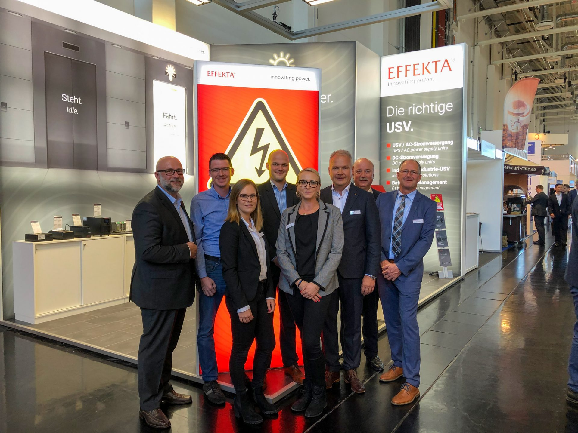 "EFFEKTA lifted off on the ""interlift 2019"